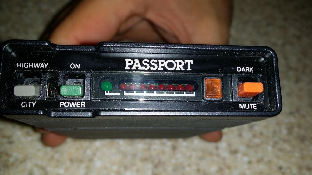 Passport Radar Detector >> Power Cord For Old Passport Escort Radar Forum